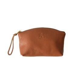 IL BISONTE|コンパクトジップレザーポーチ 小物入れ 化粧ポーチ かばん 54323-0-5395 イルビゾンテ