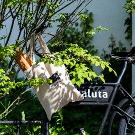 haluta|RUG BRØD(黒パン)トートバッグ