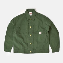 DANTON|ナイロンカバーオール シャツジャケット jd-8947ntf-yh