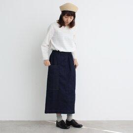 yuni|≪WEB限定≫ ムラ糸デニム タイトスカート 1709SK012181