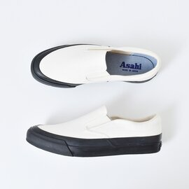 ASAHI キャンバスデッキスリッポンシューズ asahi-l010-mm