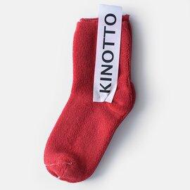KINOTTO│リバーシブルパイルソックス 251a-02