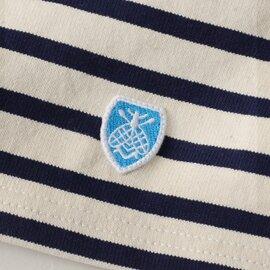 ORCIVAL|bee emblem コットンロードドロップショルダーカットソー・B429 オーシバル/オーチバル