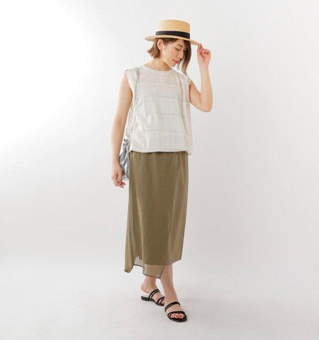 model mei:165cm / 50kg color : white check / size : 38
