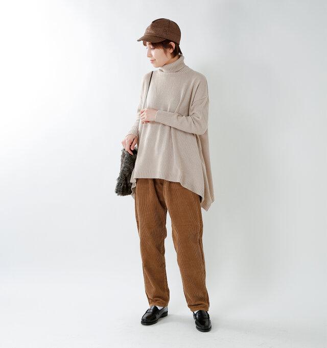 model yama:167cm / 49kg color : camel / size : M