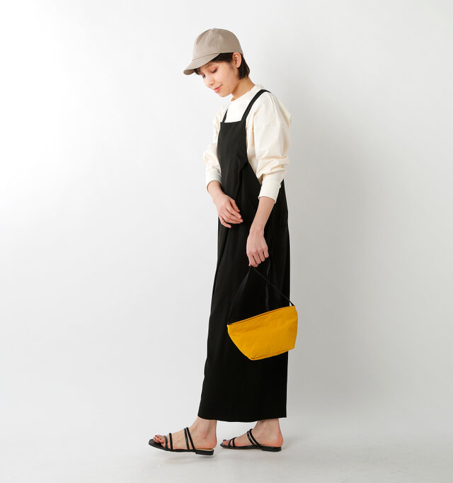 model yama:167cm / 49kg color : yellow / size : F