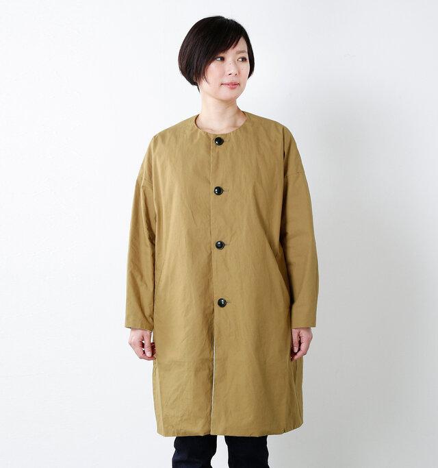 model mayu:158cm / 48kg color : walnut / size : 0(XS)