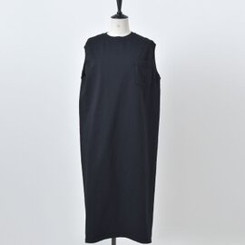 Goodwear|aranciato別注 スリーブレスポケットロングワンピース 130005-yh