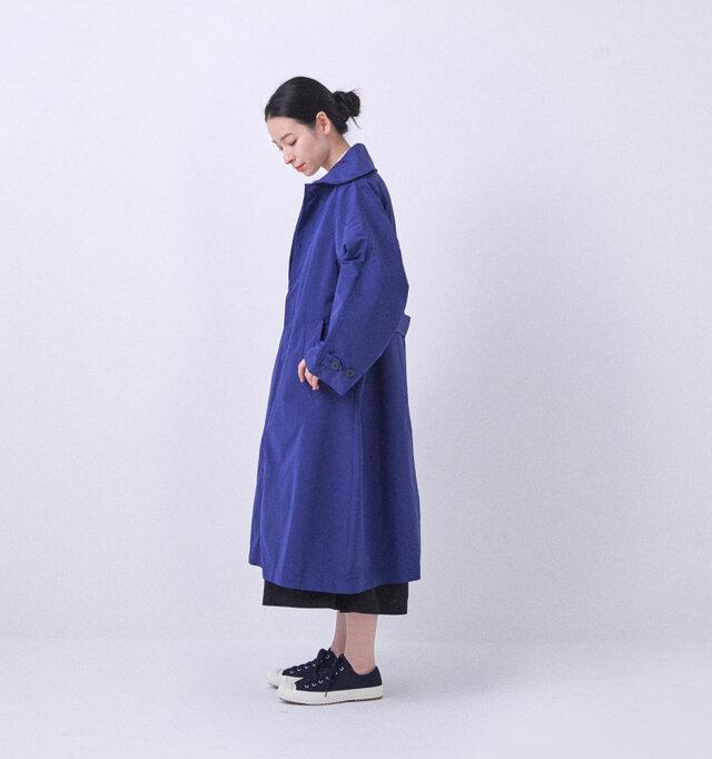 BLUE / 着用サイズ0(モデル164cm)