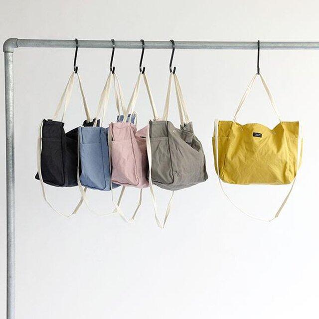 エコバッグとして、サブバッグとして、季節や用途・コーディネートに合わせて豊富なカラーバリエーションからお好みのお色をお選びください。