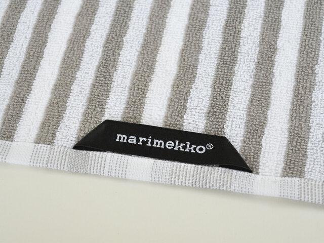 マリメッコのブランドタグ付きです。