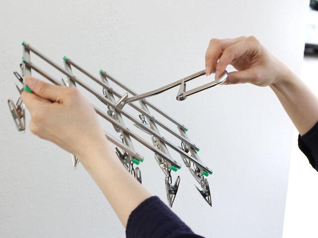 松野屋|折りたたみピンチハンガー