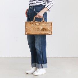 CARMELINA|八ツ目編みカゴバッグ ロング