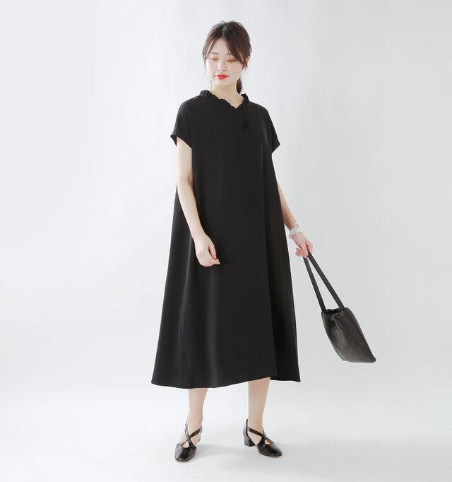 model kanae:167cm / 48kg color : black / size : 38