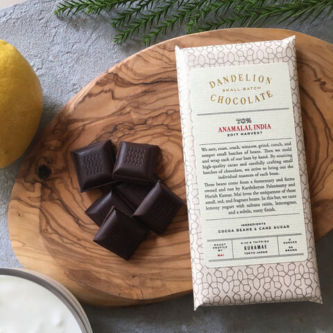 Dandelion Chocolate|アナマライ, インド 70%