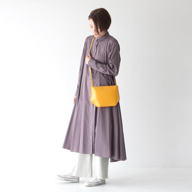 モデル:162cm color : mustard / size : ワンサイズ