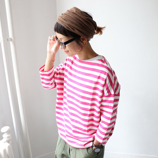 ピンク 着用、モデル身長:158cm