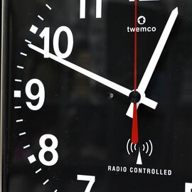 TWEMCO|ラジオ コントロール カレンダー クロック RC-12A