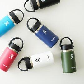 Hydro Flask ウォーターボトル 354ml Wide Mouth 12oz 水筒 マイボトル 5089021 ハイドロフラスク