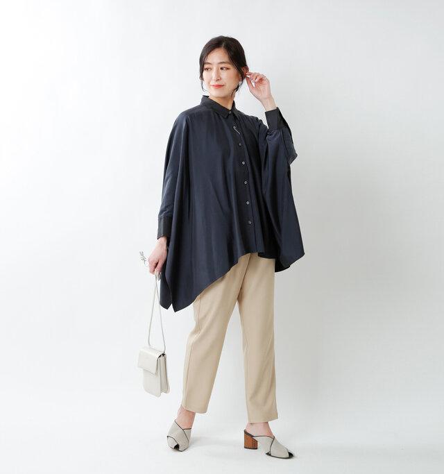 model tomo:158cm / 45kg  color : navy blue / size : 36