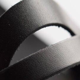 SANDRO ROSI|レザーフラットサンダル 5ip-sho-191021-ma
