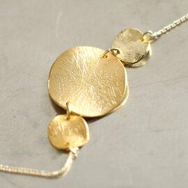 "Joli&Micare|""Gold 9chip long Necklace"" gdc0107-mk"