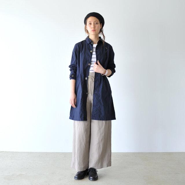 モデル:164cm / 49kg color : navy / size : 0(Women's M)