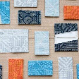 十布 カードケース 福島の刺子織