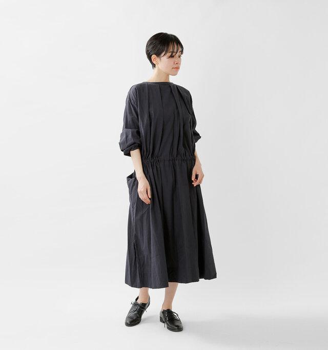 model saku:163cm / 43kg  color : black / size : F