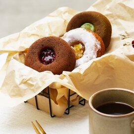 タビノネ|祝祭日のためのベイクドドーナツ3個セット(箱入)