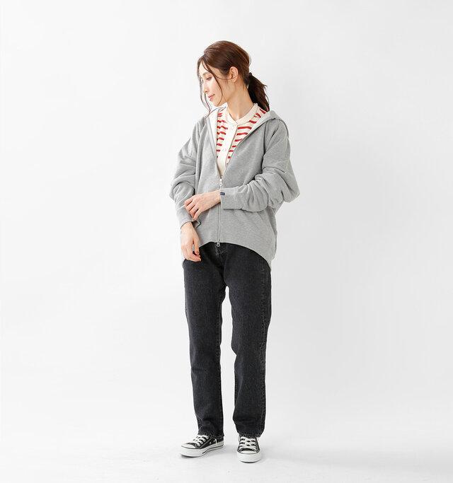model yama:167cm / 49kg  color : red / size : F