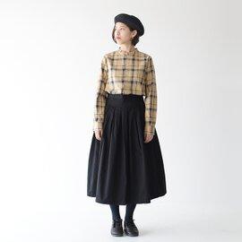 GRANDMA MAMA DAUGHTER|グランマママドーター プリーツチノロングスカート・GK001・GK530013