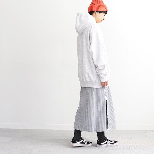 ホワイトヘザー / 3 着用、モデル身長:164cm