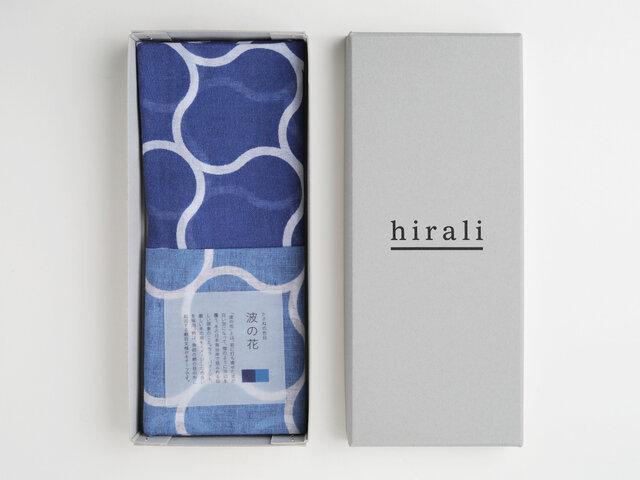 hirali|ガーゼストール かさねの色目 ~波の花~
