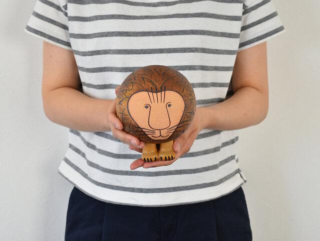Lisa Larson 陶器オブジェ AFRICAシリーズ ライオン