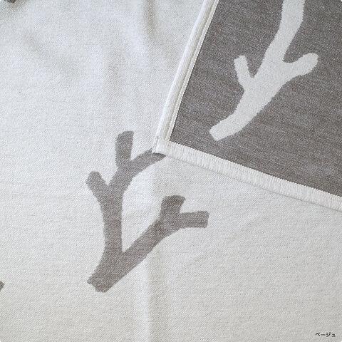 KLIPPAN × minä perhonen│CORAL シュニールコットンブランケット