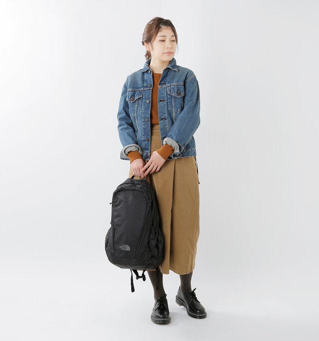 model hikari:165cm / 48kg color : black / size : 20L