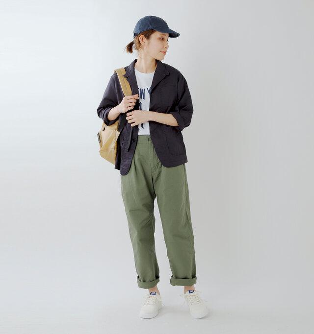 model yama:167cm / 49kg color :seasalt / size : 24.0cm