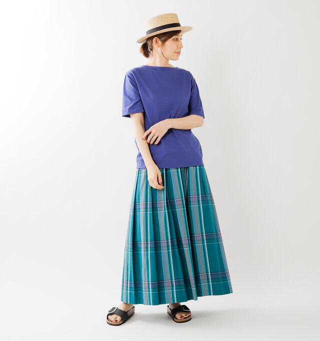 model yama:167cm / 49kg color : purple / size : 3