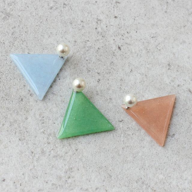 左から、ライトブルー、ミントグリーン、ライトピンク