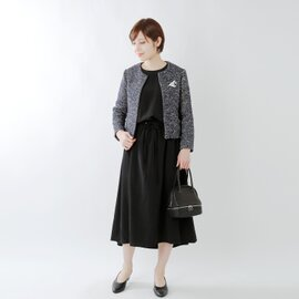 【2019SS】Si-Si-Si|aranciato別注 ウエストギャザーワンピース n-2516d-fn