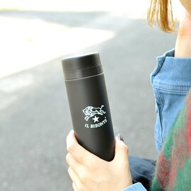 IL BISONTE|バッファローロゴサーモボトル スマートボトル水筒 300ml・54324-0-9298 イルビゾンテ