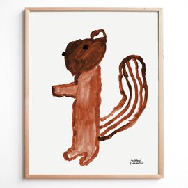 Fine Little Day|ポスター SQUIRREL(リス)40×50cm