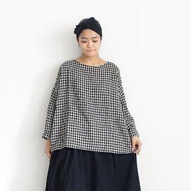 ichi Antiquités|Cotton Wool Gingham Pullover