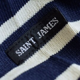 SAINT JAMES|厚手コットン ボートネックカットソー ouessant-yh