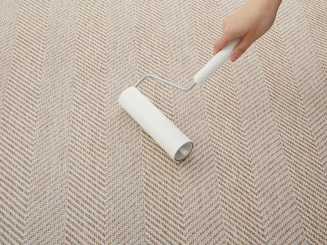 スミノエ 洗えるラグ リペコ〈床暖対応〉