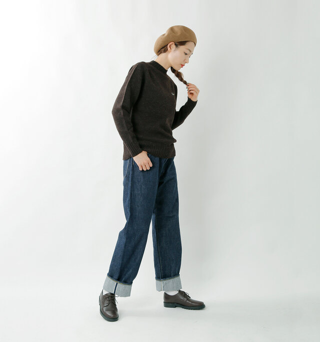 model mizuki:168cm / 50kg color : mocha / size : one