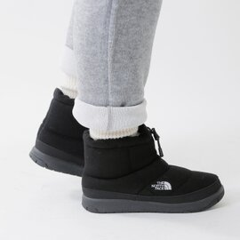 "THE NORTH FACE|Wヌプシブーティーウール4ショート""W Nuptse Bootie Wool 4 Short"" nfw51879-fn"