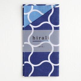 hirali|手ぬぐい かさねの色目 ~波の花~