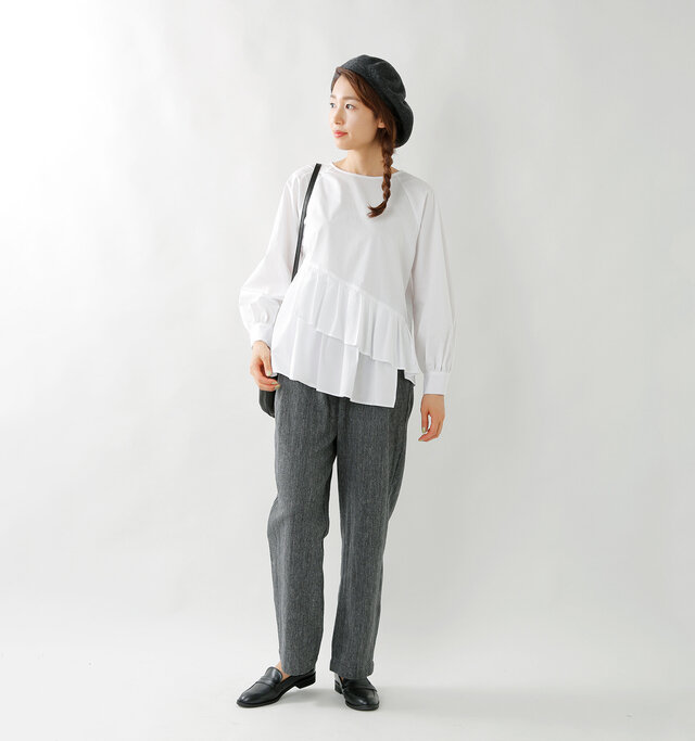 model mizuki:168cm / 50kg  color : white / size : 38
